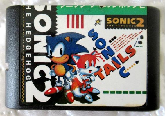 Sonic 2 - Clássico Do Videogame - Excelente Jogo Alternativo