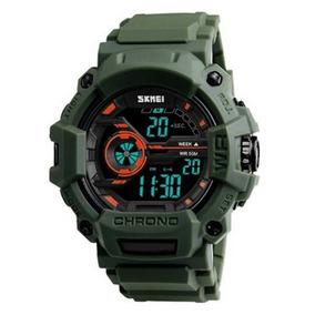 Relógio Digital Esportivo Skmei 1233 Shock Militar Original