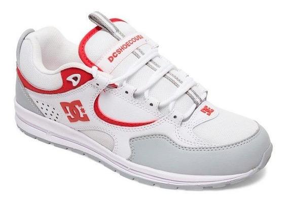 Tênis Dc Kalis White Red 38 Branco