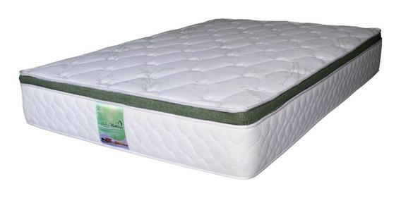 Colchon King Size Memory Foam Y Resortes Bamboo Bio Mattress