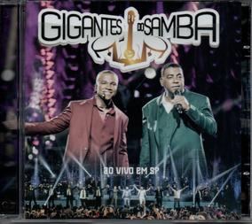 Cd Gigantes Do Samba - Ao Vivo Em São Paulo