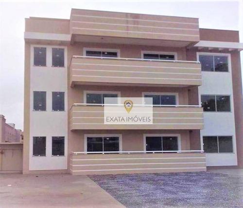 Imagem 1 de 16 de Apartamentos 02 Quartos A 200m Da Rodovia, Enseada Das Gaivotas, Rio Das Ostras. - Ap0091