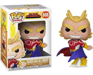 Funko Pop My Hero Academia Silver Age All Might 608