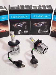 Luces Led H4 S2 6500k 16000lm 15$ ¡mejor Que Las C6!