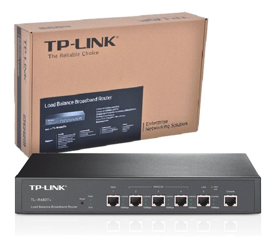 Router Dual Wan Tp-link Tl-r480t+ Hasta 4 Wan Balanceo Carga