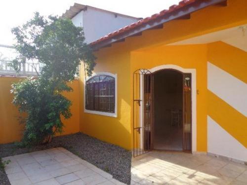 Linda Casa Lado Praia No Bopiranga Em Itanhaém - 5547 | Npc