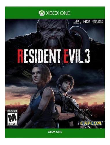 Imagen 1 de 4 de Resident Evil 3 Remake Capcom Xbox One Digital