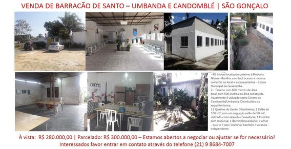 Venda De Barracao De Santo Umbanda E Candomblé