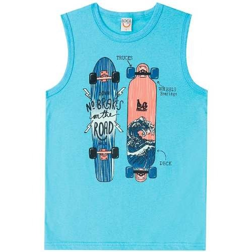 Regata Infantil Masculina Skate Boca Grande Bg45928