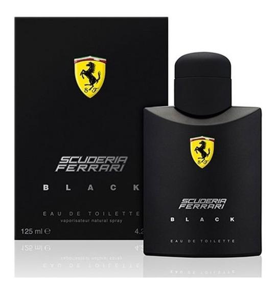 Perfume Ferrari Black 125ml - Original   Lacrado Na Caixa