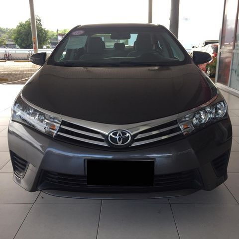 Toyota Corolla 1.8 Gli Manual Flex 2016