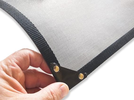 Tela Mosquiteira C/ Imã Janela Ferro Ou Alumínio Sob Medidas