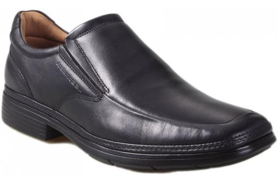 Sapato Anatomicgel 8616 Solado Ultraleve Preta - Mestiço Pto