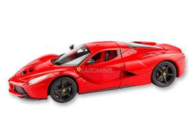 Miniatura Ferrari Laferrari Vermelha Bburago 1:18