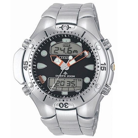 Relógio Citizen Aqualand Tz10020d C/ Nf-e