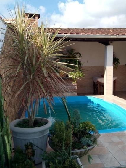 Casa Com 1 Dormitório, Piscina Em Mongaguá Ref 7892w