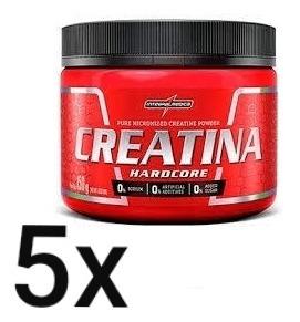 5x Creatina 150g Integralmedica - Barato Validade 08/2020