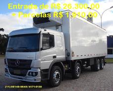 Mercedes-benz Atego 2426, 2014, Refrigerado, Unico Dono