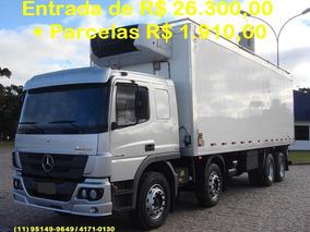 Mercedes-benz Atego 2426, 2014, Refrigerado -20°, Unico Dono