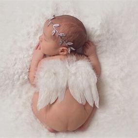 Kit Newborn - Anjo - Asa+faixa - Ensaio Fotográfico - Menino