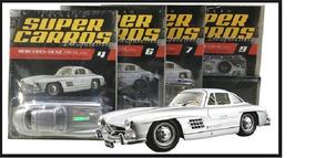 Coleção Super Carros Inesquecíveis Mercedes-bens 300 Sl