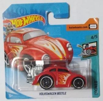 Miniatura Hot Wheels Volkswagen Beetle - Série Tooned !!!
