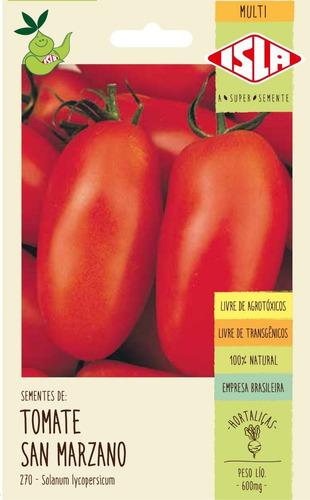 Sementes De Tomate San Marzano                  250 Sementes