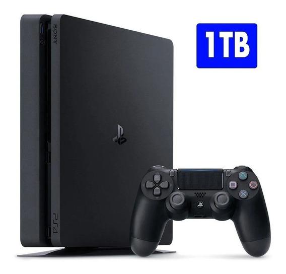 Playstation 4 Slim 1 Tb Sony Ps4 + Nfe Nacional