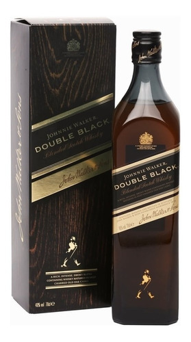 Whisky Escoces Johnnie Walker Double Black 1 Litro