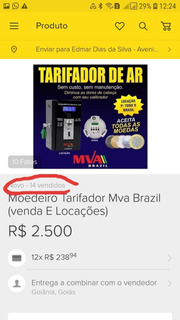 Moedeiro Tarifador Mva Brazil (venda E Locações)