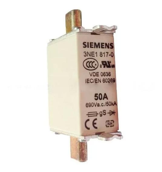 Fusivel Nh 50a Sitor 3ne18170 Siemens