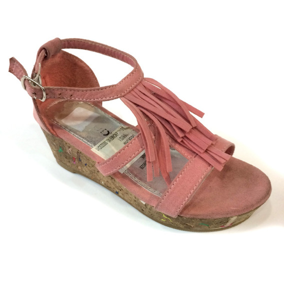 Sandalias Actitud Originales Para Niñas - Ac160902b - Pink