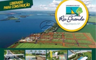 Ref.: La90034/58, Rancho, Terreno Condominio, Miguelopolis - Sp, Cond. Recreio Rio Grande