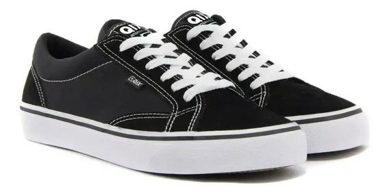 Tênis Qix Dt Skate Preto Branco Original