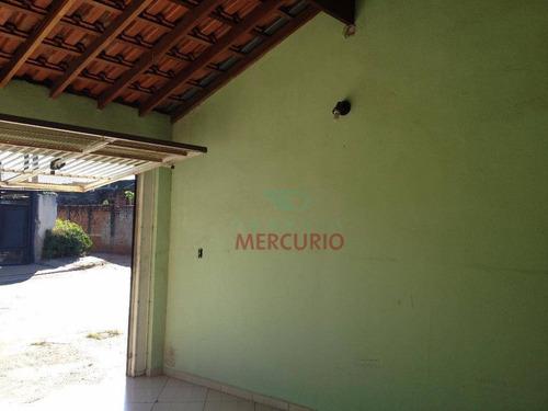 Casa Com 3 Dormitórios À Venda, 149 M² Por R$ 265.000,00 - Parque Santa Edwiges - Bauru/sp - Ca3176