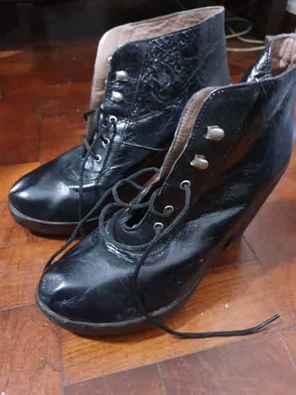 Zapatos/botitas De Cuero