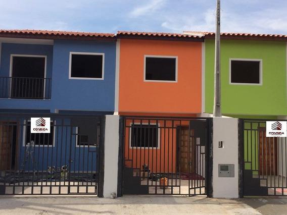 Casa Nova Com Excelente Preço - Ca0988