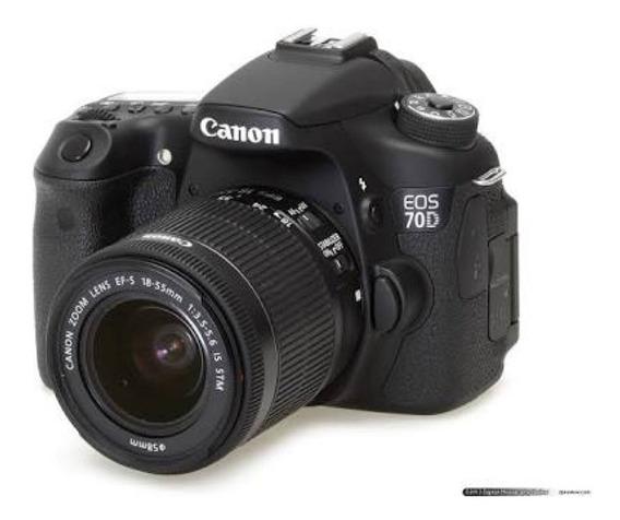 Canon 70d + 18-135mm (frete Grátis)