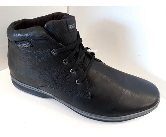 Zapato Botita De Cuero Hombre Freeway Easywear