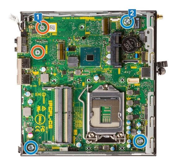Placa Mãe Dell Optiplex 3060 Micro 1151 Ddr4 Ipcfl-cg