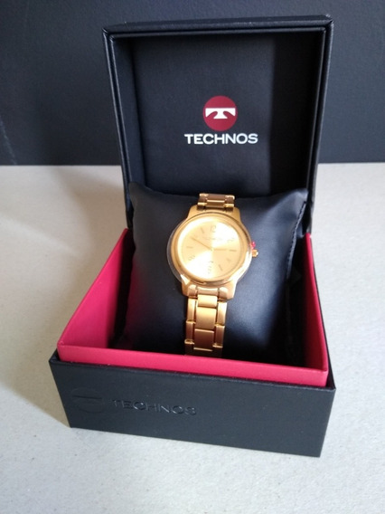 Relógio De Pulso Technos Classic Steel Dourado