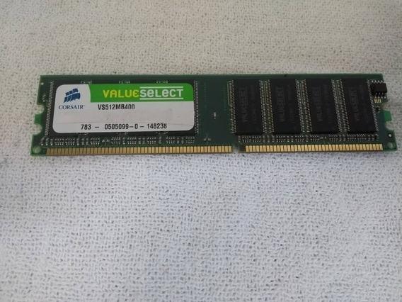 512 Mb De Memória Ram Corsair Vs512mb400 Ddr Pc3200 400mhz
