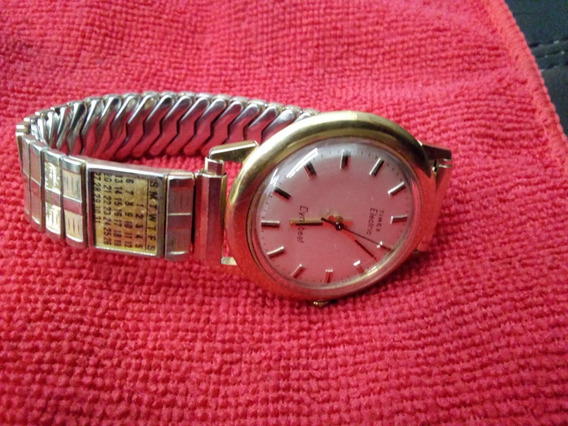 Hermoso Reloj Vintage Timex Electric Dynabeat Años 70´s