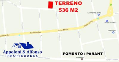 Oportunidad En Balneario Fomento / Parant - Permuta - Financ