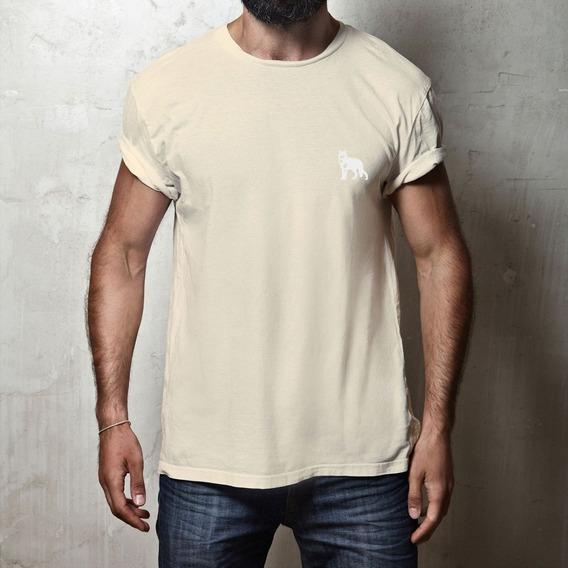 Camiseta Lobo Branco Vip Classic Palha