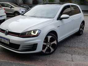Volkswagen Golf 2.0 Gti Tsi App Connect + Cuero