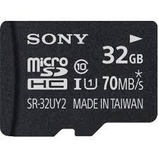 Cartão De Memória 32gb Micro Sdhc Classe 10 Sr32uy2 Sony