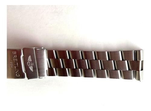 Breitling Pulseira Original Nova 22 Mm  Professional I I