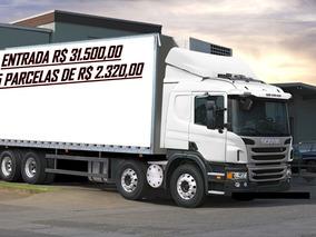 Scania P310 - 8x2 Bi Truck Baú Frigorifico / 2014