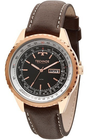 Relógio Technos Masculino Automático 8205np/0p